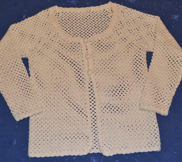 Vesty a pulovry háčkované